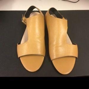 Zara Leather Sandals/Flats